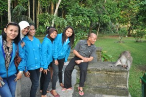Kunjungan ke Hutan Sangeh Bali