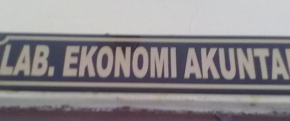 Lab Ekonomi Akuntansi